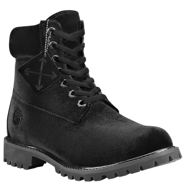 Men's Timberland X Off-White 6-Inch Textile Boots-