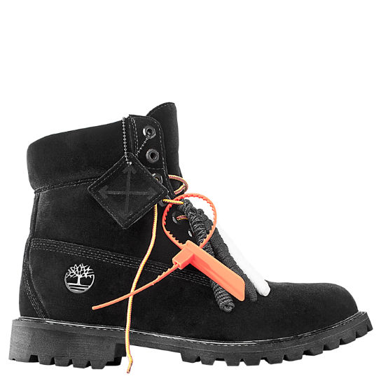 Men s Timberland X Off-White 6-Inch Textile Boots bc8126baa3
