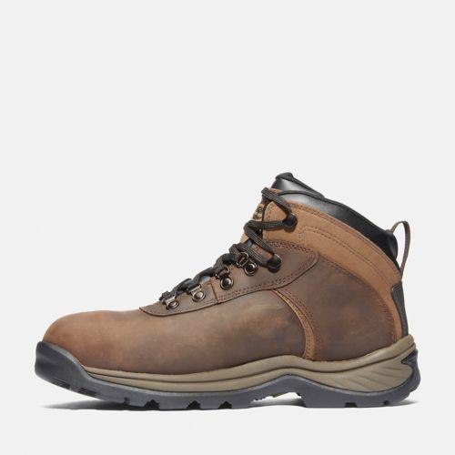 Men's Flume Work Steel Toe Waterproof Work Boot-