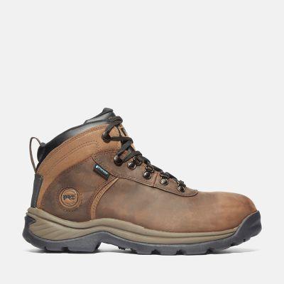 Men's Flume Work Steel Toe Waterproof Work Boot