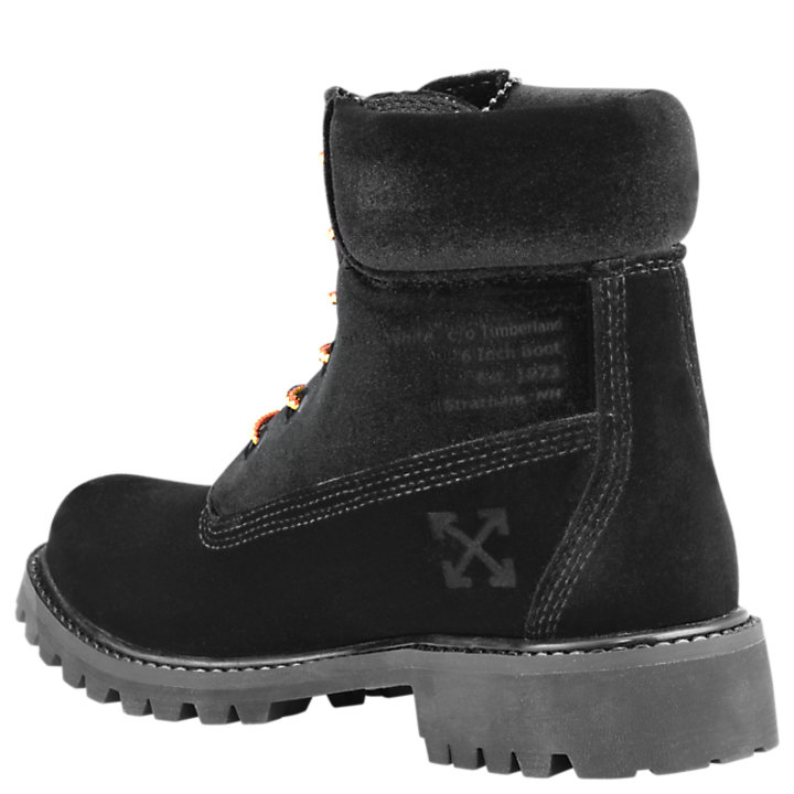 Women's Timberland X Off-White 6-Inch Textile Boots-