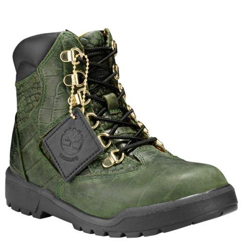 Junior Limited Release Crocodylian Waterproof 6-Inch Field Boots-