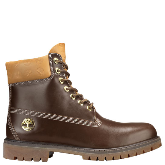 e071b4cdc1e3 Men s Signature Logo 6-Inch Premium Waterproof Boots