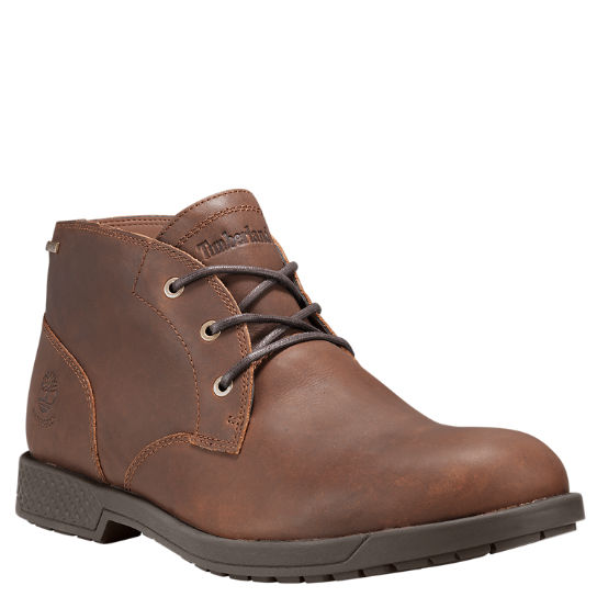 Men's City's Edge Waterproof Chukka Boots
