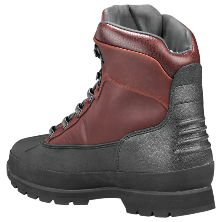 Men's Shell-Toe Waterproof Euro Hiker Boots-