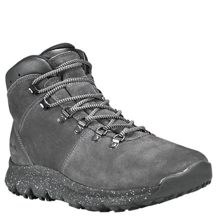 9 Timberland Mens World Hiker Mid Dark Grey Boot