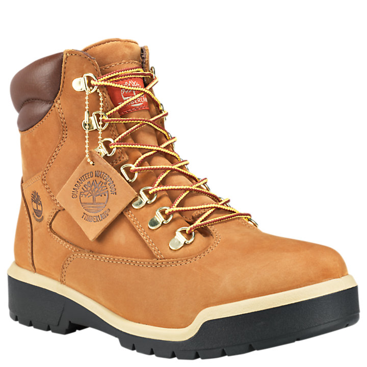 b4123dca493 Men's Extra Cheese Waterproof 6-Inch Field Boots