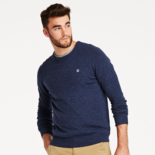 Men's Donegal Crew Neck Sweater