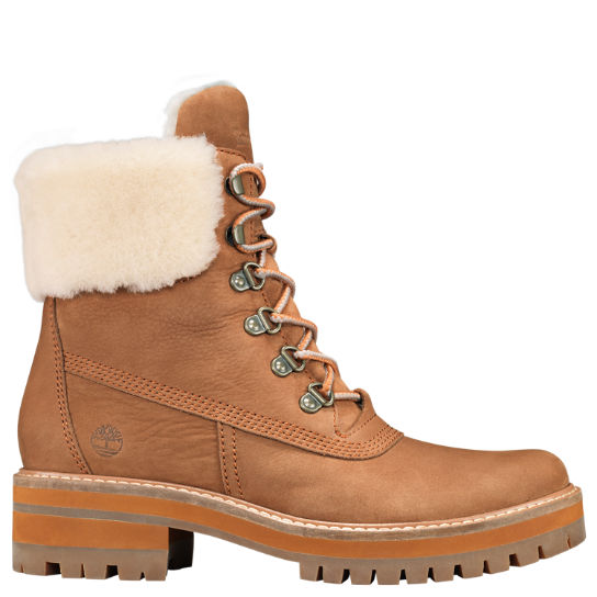 Women's Courmayeur Valley Shearling-Lined Boots