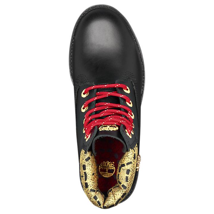 Boots Chinese 6 Women's Year Waterproof Inch New Premium sdthQrC