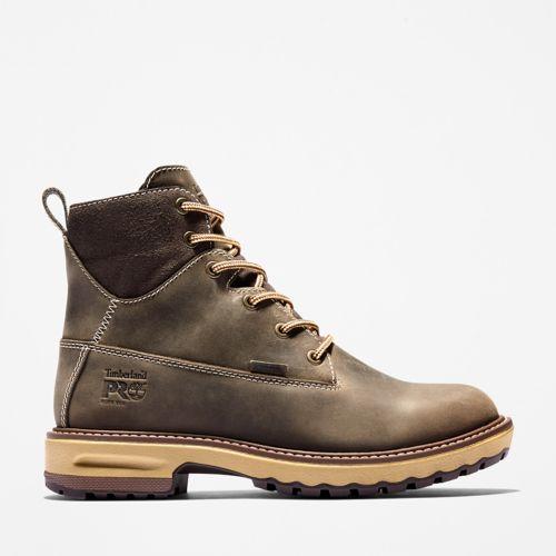 "Women's Timberland PRO® Hightower 6"" Soft Toe Work Boots-"