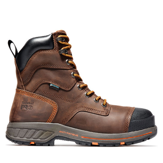 "Men's Timberland PRO® Helix HD 8"" Soft Toe Work Boots"