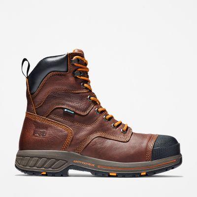 "Timberland | Men's Timberland PRO Helix HD 8"" Comp Toe Work Boots"