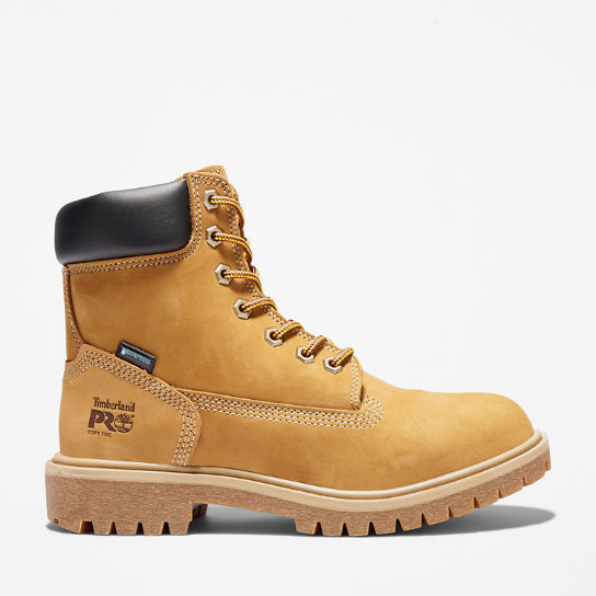 TIMBERLAND PRO WORK BOOTS DIRECT ATTACH SOFT TOE BOOTS WHEAT