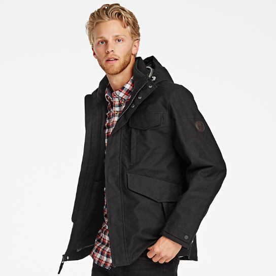 Men's Ragged Mountain 3-In-1 Waterproof Field Jacket