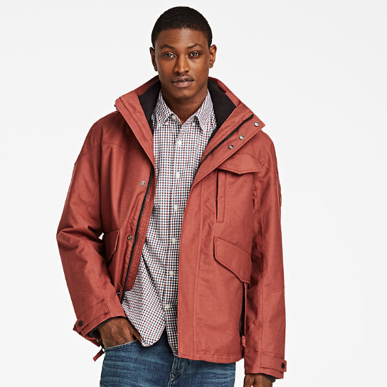 Men\u0027s Ragged Mountain 3-In-1 Waterproof Field Jacket