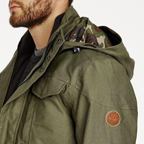 Men's Ragged Mountain 3-In-1 Waterproof Field Jacket-
