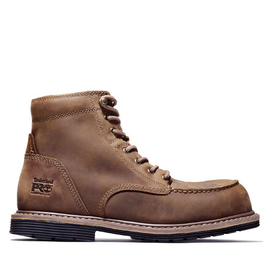 "Men's Timberland PRO® Millworks 6"" Moc Comp Toe Boots"