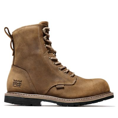 """Men's Timberland PRO® Millworks 8"""" Comp Toe Boots"""