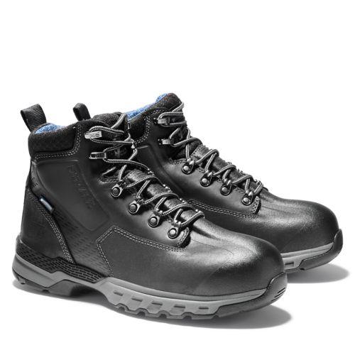 "Men's Timberland PRO® Downdraft 6"" Alloy Toe Boots-"