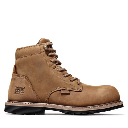 """Men's Timberland PRO® Millworks 6"""" Comp Toe Boots-"""