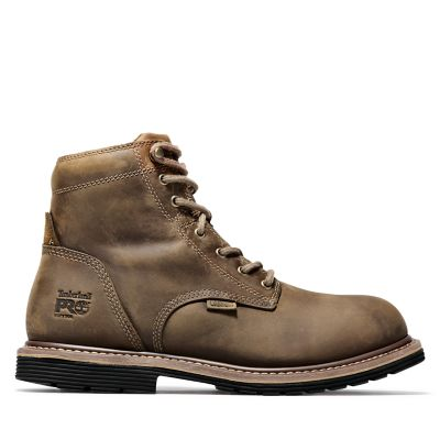 """Men's Timberland PRO® Millworks 6"""" Soft Toe Boots"""
