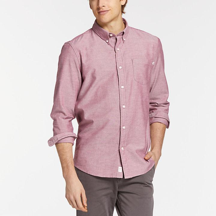 Men's Long Sleeve Pleasant River Oxford Shirt-
