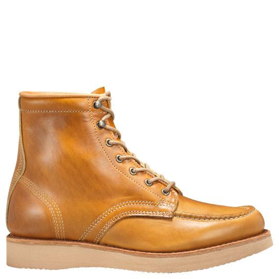 Super Qualität harmonische Farben populärer Stil Men's Timberland® American Craft Moc-Toe Boots