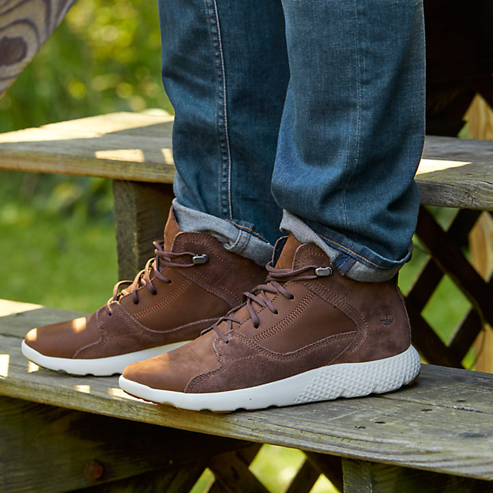 Men's FlyRoam™ Leather Sneaker Boots-