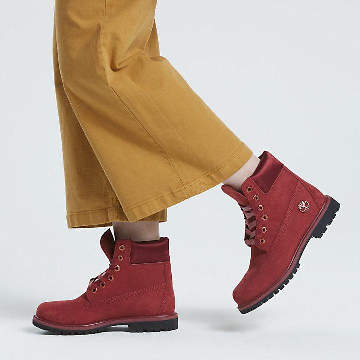 cf56102487676 Timberland | Women's 6-Inch Premium Waterproof Boots w/Satin Collar