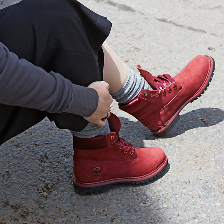 Women's 6-Inch Premium Waterproof Boots w/Satin Collar-