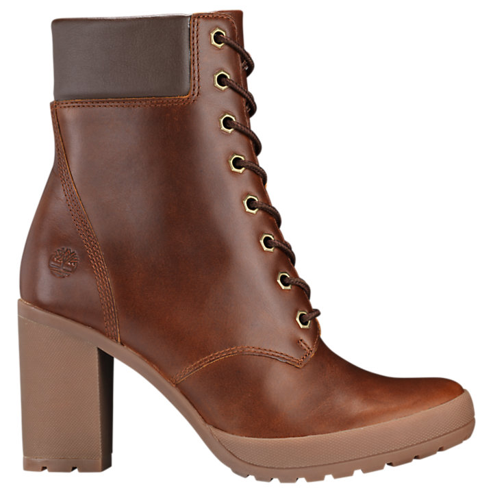 high timberland bottes heels