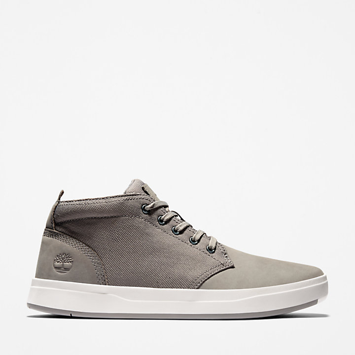 Men's Davis Square Mixed-Media Chukka Shoes-