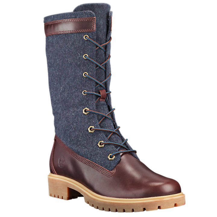 Women's Jayne Mixed-Media Gaiter Boots-