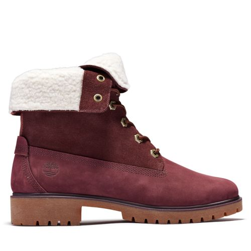 Women's Jayne Waterproof Fleece Fold-Down Boots-