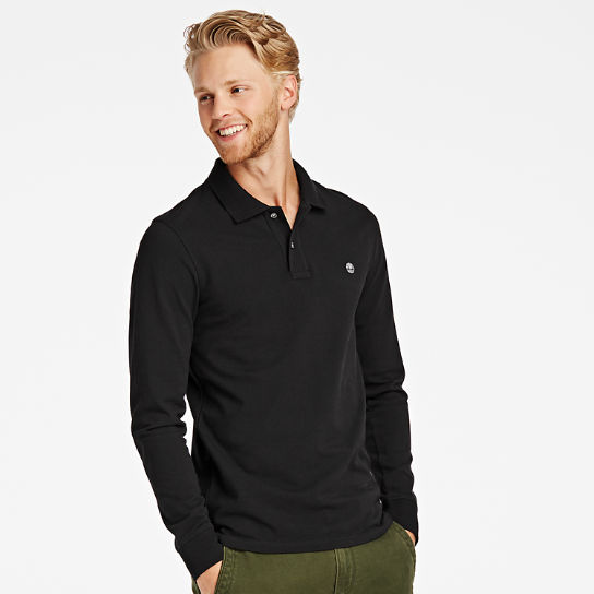 Men's Millers River Long Sleeve Polo Shirt