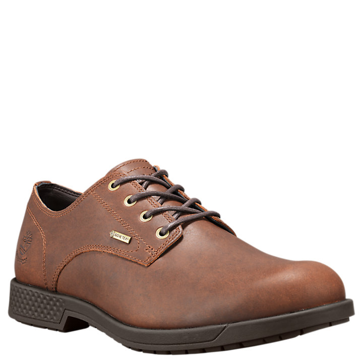 Men's City's Edge Waterproof Oxford Shoes-