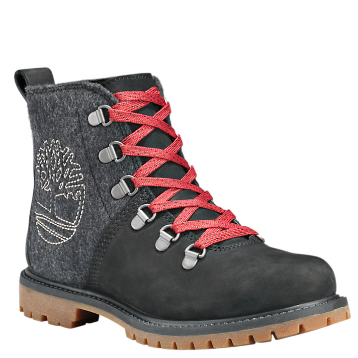 Women's 6-Inch D-Ring Hiking Boots-