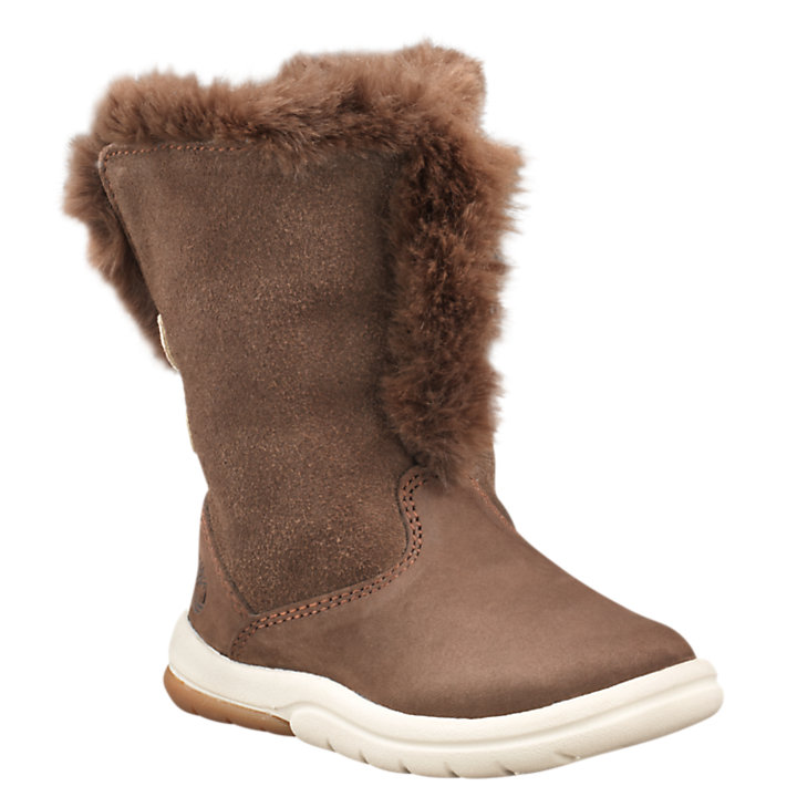 Toddler Toddle Tracks Faux-Shearling Booties-