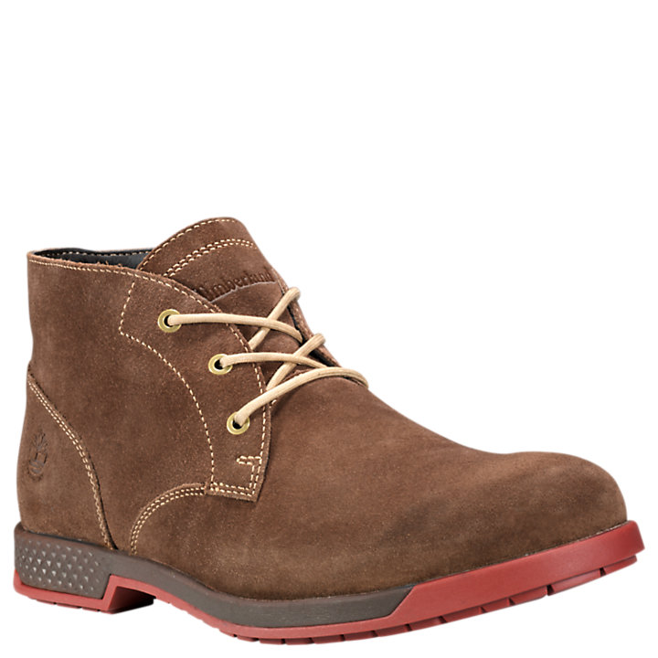 Men's City's Edge Suede Waterproof Chukka Boots-