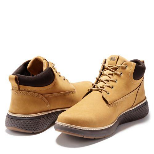 Men's Cross Mark Waterproof Chukka Shoes-