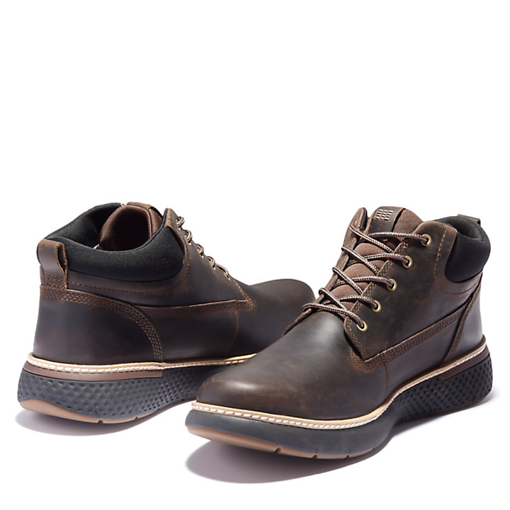 Men's Cross Mark Waterproof Chukka Shoes-