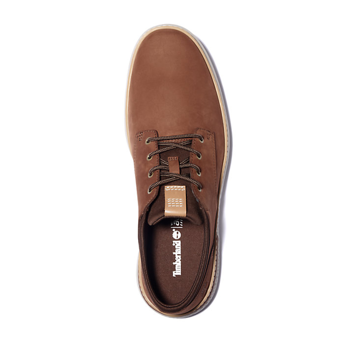 Men's Cross Mark Lined Leather Sneakers-