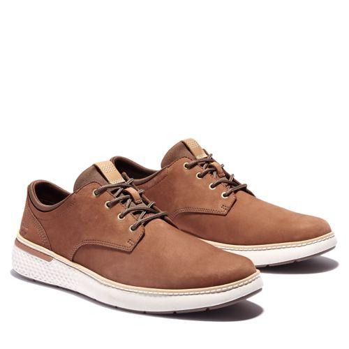 Men's Cross Mark Lined Leather Sneakers-