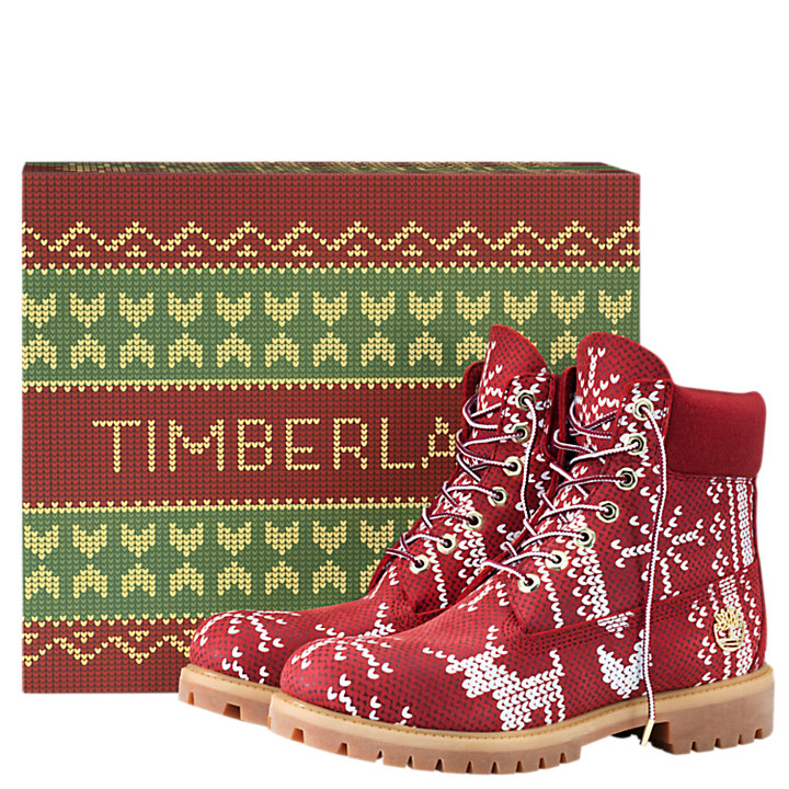 Men's Special Release Ugly Sweater 6-Inch Waterproof Boots-