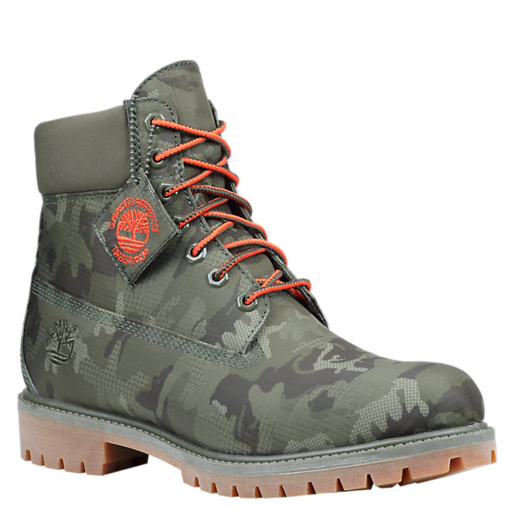 Men's6– Inch Premium Waterproof Jacquard Boots-