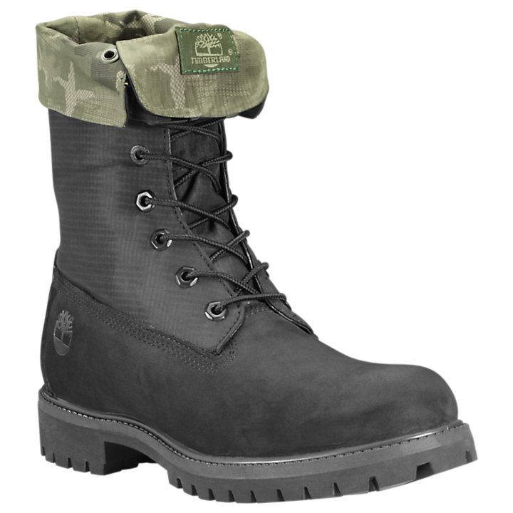 Men's Special Release Mixed-Media Gaiter Boots-
