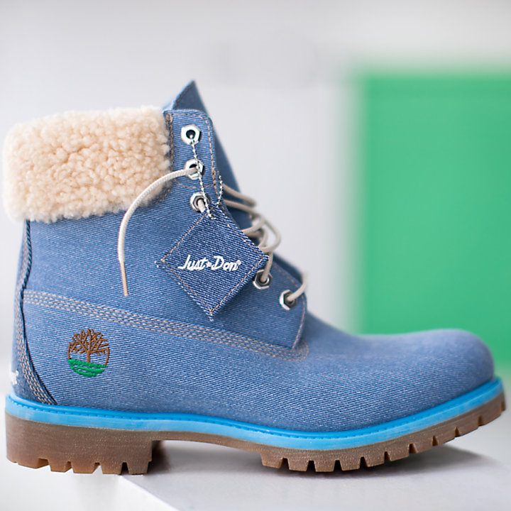 Men's Timberland X Just Don 6 Inch Denim Boots