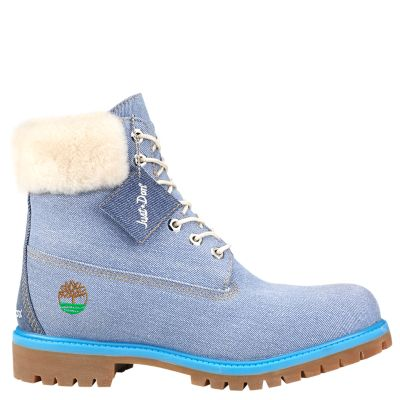 Men's Timberland X Just Don 6-Inch Denim Boots