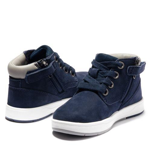 Toddler Davis Square Zip Sneaker Boots-